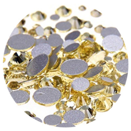 Crystal Facet Strass Champagne