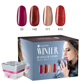 CN Bestseller Colors Winter 2016/2017 Color Gel Kit
