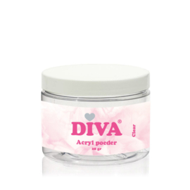 Diva Acryl Poeder Clear 20 gram