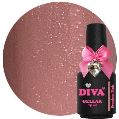 Diva Gellak Freedom Pink 15 ml