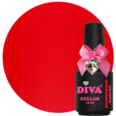 Diva Gellak Scarlet Red 15 ml