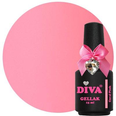 Diva Gellak Coral Pink 15 ml