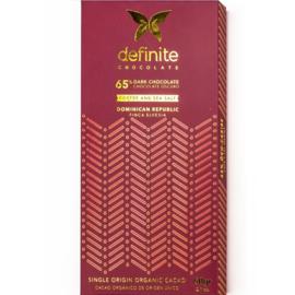 Definite - Koffie en zeezout 65%
