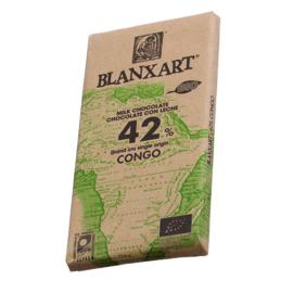Blanxart - Congo 42% melkchocolade