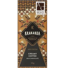Krakakoa - Koffie 40% melkchocolade