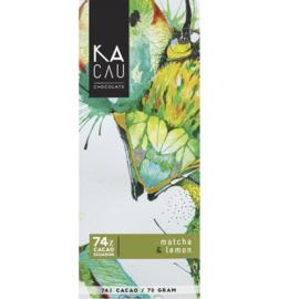 Kacau - Matcha en citroen 74%