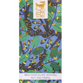 Theo & Philo - Pilinoten en pinipig melkchocolade