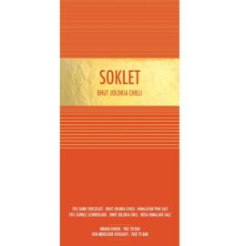 Soklet - Bhut jolokia chilli & roze Himalaya zout 70%