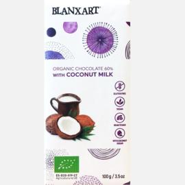 Blanxart - Chocola met Kokosmelk 60%