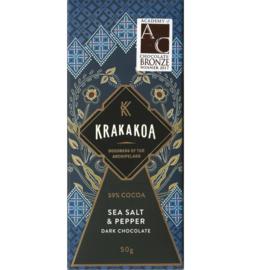 Krakakoa - Zeezout en peper 59%