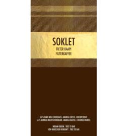 Soklet - Filter kaapi 55% melkchocolade