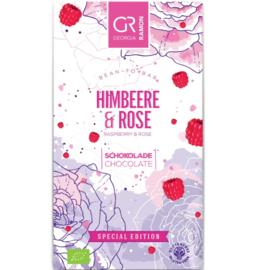Georgia Ramon - Frambozen-Rozen 70% witte chocolade