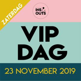 Kaartje voor de VIP dag op zaterdag 23 november 2019