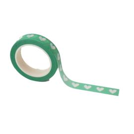 Mint kleurige washi tape: Lovely mint