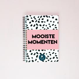 Mooiste Momenten boek (A5) - roze
