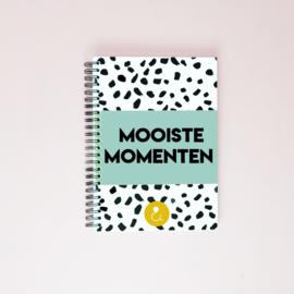 Mooiste Momenten boek (A5) - mint