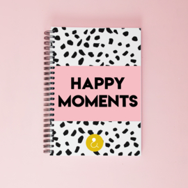 Happy Moments  invulboek- roze