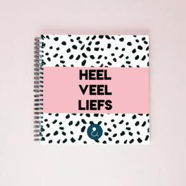Kraambezoekboek - roze