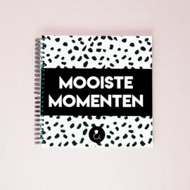 Mooiste Momenten boek - monochrome