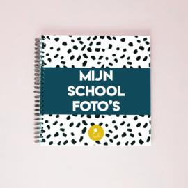 Schoolfotoboek Nederland - donkerblauw