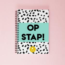 Invulboek voor dagjes weg 'Op stap!' - mint