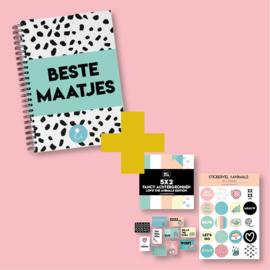Invulboek 'Beste Maatjes' + themaset 'Animals'