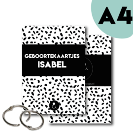 Bewaarbundel A4 met eigen titel (kies je kleur)