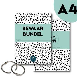 Bewaarbundel A4 - mint