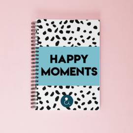 Happy Moments invulboek - lichtblauw