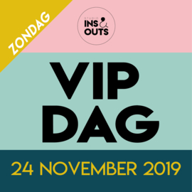 Kaartje voor de VIP dag op zondag 24 november 2019
