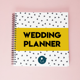 Wedding Planner - okergeel