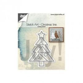 Stansvorm: Kerstboom