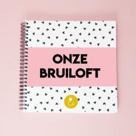 Plakboek Onze Bruiloft - roze