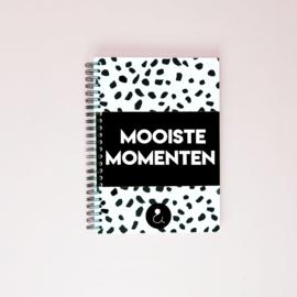 Mooiste Momenten boek (A5) - monochrome