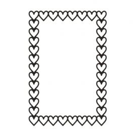 Stansvorm: Frame hartjes