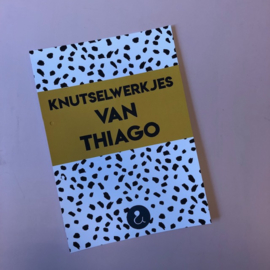 A4 Bewaarbundel - Okergeel - Knutselwerkjes van Thiago