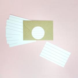 Schrijfkaartjes voor je invulboek