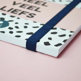Babyboek 'Mijn eerste jaar' - roze