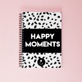 Happy Moments invulboek - monochrome