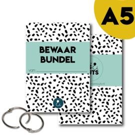 Bewaarbundel A5 - mint