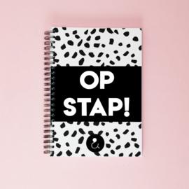 Invulboek voor dagjes weg 'Op stap!' - monochrome
