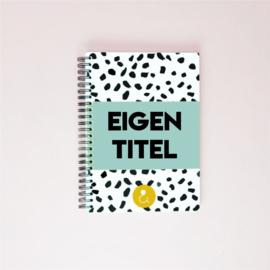 Plakboek met eigen titel (A5) - mint