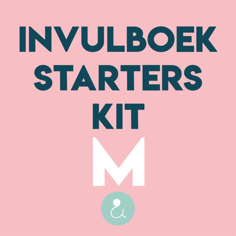 Starterspakket voor je invulboek - M