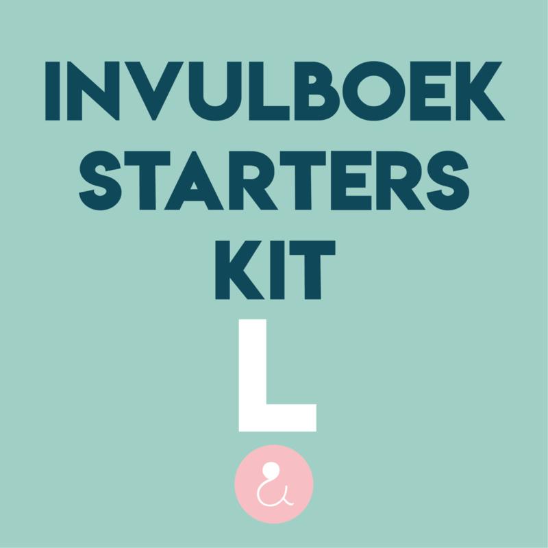Starterspakket voor je invulboek - L