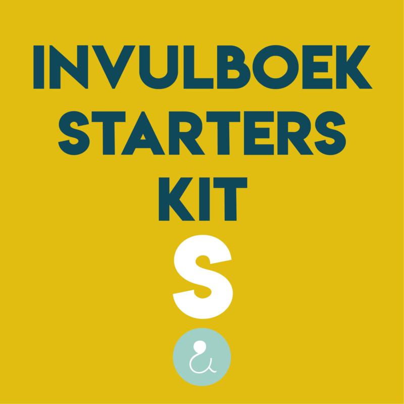Starterspakket voor je invulboek - S