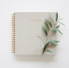 GUESTBOOK - LINEN IVORY