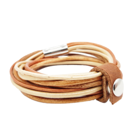 Leather Wrap Camel