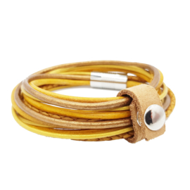 Leather Wrap Ocre