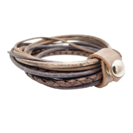 Leather Wrap Brown