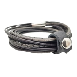 Leather Wrap Black